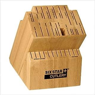 Six Star Knife Block