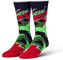 Odd Sox, Unisex, Food, Pepsi and Mountain Dew, Crew Socks, Novelty Funny Cool