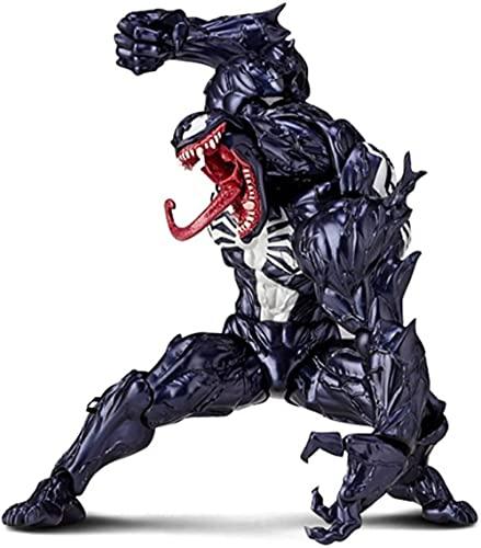XMxx Venom Action Figure, Venom Carnage Spiderman Action Figure with Box PVC Killer Collection Model-Venom