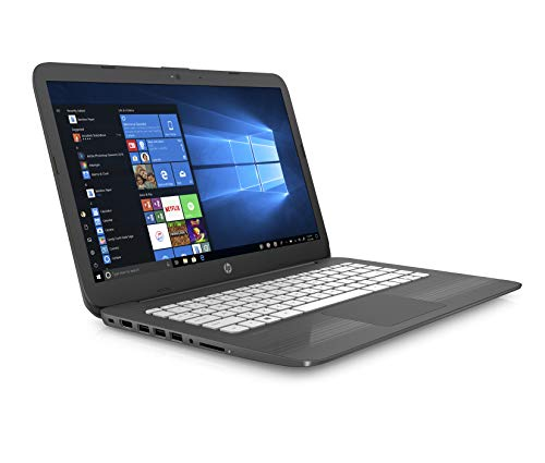 HP Stream 14-cb006na 14 Inch Laptop, (Grey) (Intel Celeron N3060, 4 GB RAM, 32 GB eMMC, Office 365 and 1 TB OneDrive Cloud Storage, 1 Year Subscription Included , Windows 10 Home)