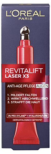 L'Oreal Paris Augencreme Revitalift Laser X3 Anti Aging Augenpflege 15ml