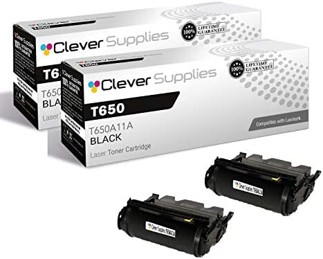 CS Compatible Toner Cartridge Replacement for Lexmark T650 T650A11A Black T650 T650DN T650DTN product image