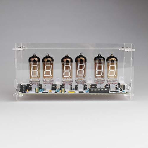NIXT CLOCK - DIY Kit with Tubes and Case IV-11 VFD Clock Nixie Clock era