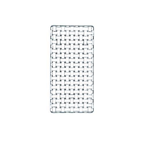 NACHTMANN – Rechteckiger Teller aus Kristallglas, 24 % Blei, Kollektion Bossa Nova – Größe: klein, 28 x 14 cm