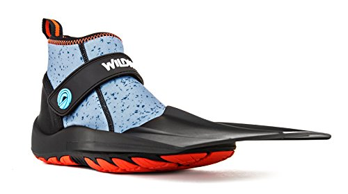 Wildhorn Topside Snorkel Fins- Compact Travel, Swim, and Snorkeling Flippers for Men and Women. Revolutionary Comfort on Land and Sea.