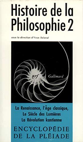 Histoire de la philosophie, tome 2