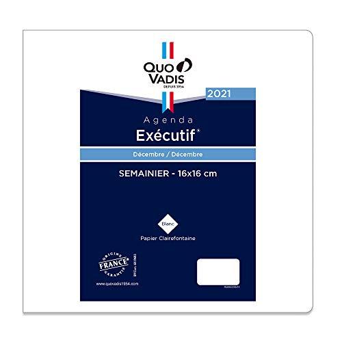 クオバディス 2021年版 12月始 エグゼクティブ レフィル フランス語版 qv014rech-fr ホワイト