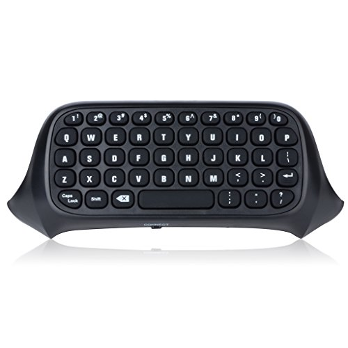 Megadream - Teclado Bluetooth para mando de Xbox One, negro, 2.4G, Mini, inalámbrico (no necesariamente español)