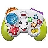 Fisher-Price la Manette de jeu et d'apprentissage, jouet interactif musical et lumineux pour bébé,...