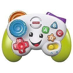 Fisher-Price FWG14 - Lernspaß Spiel Controller Lernspielzeug und Baby Spielzeug für Buchstaben Zahlen Formen und Farben mit 2 Spielmodi, Spielzeug ab 6 Monaten deutschsprachig