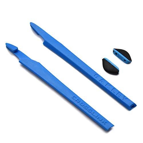SOODASE Kit de goma de silicona Earsocks de repuesto Para Oakley Crosslink Gafas de sol