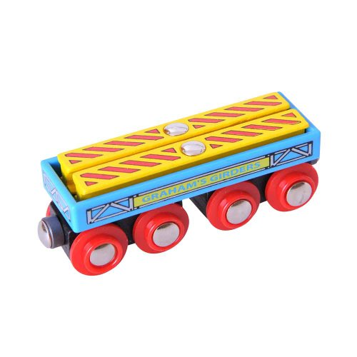 Bigjigs Rail Wagon de poutres de Graham