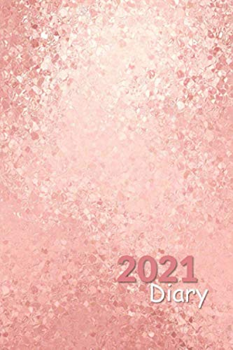 2021 Diary: Handy Sized Week to a Page Diary with 2021 & 2022 Calendars | Unique Cover | Monthly Planner Included