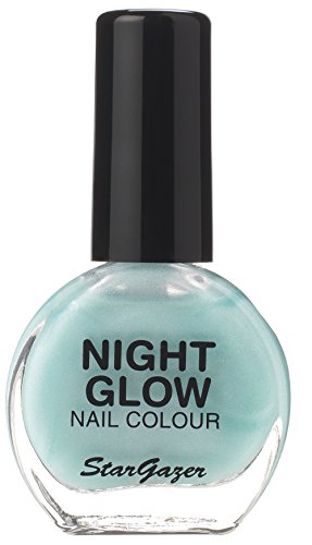 Stargazer Products Glow In The Dark Nagellak, per stuk verpakt (1 x 10 ml) Glow Jade.