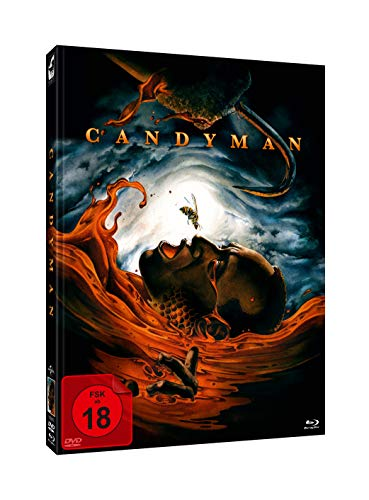 Candyman - Limited Unrated 2-Disc Mediabook (Cover A) DVD - Blu-ray