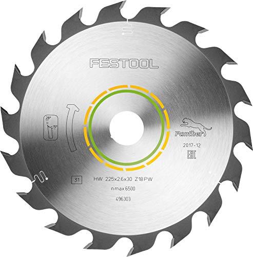 Festool 496303 Kreissägeblatt HW 225 x 2.6 x 30 PW18