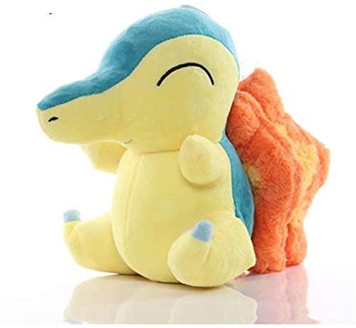 YLLAND Cartoons Pokemons Cyndaquil Plush Toys Soft Stuffed Animal Decoration for Kids 20Cm