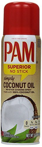 PAM Coconut Oil Cooking Spray, 5 oz by PAM