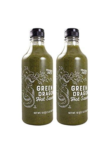 Trader Joes Green Dragon Hot Sauce - 2 pk, 18 oz each