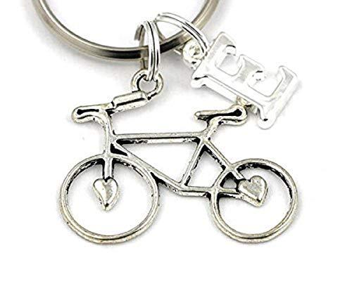 SILVER KNIGHT Llavero de bicicleta, llavero personalizado,...