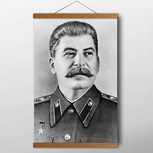 QAZEDC Dekorative Malerei Gemälde The Great Leader Stalin Portrait Poster Leinwanddruck Wandkunst Raumdekoration 60x80cm