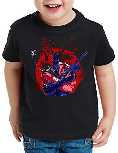 A.N.T. Castle Hunter T-Shirt per Bambini e Ragazzi Solid Snake Belmont Simon, Dimensione:128