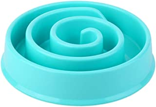 Pet Dog Feeding Food Bowls Portable Puppy Slow Down Eating Snail Shape Feeder Dish Bowel Prevent Obesity Dogs Supplies