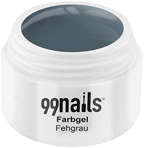 99 Nails® Farbgel – fehgrau, 1er Pack (1 x 5 ml)