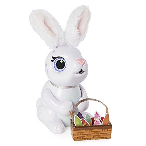Zoomer 6046698 Hungry Bunnies - Animal Interactivo, Color Blanco