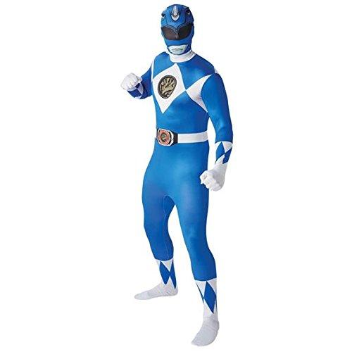 Rubie' s Costume Ufficiale Ranger 2nd Skin, Adulto-Blu, XL