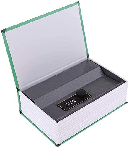 1 PZ Libro Cassaforte con Serratura In Metallo Box Hidden Home Diversion Libro Segreto Custodia Da Viaggio Portatile (Password-mare)
