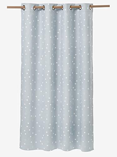 Vertbaudet Verdunkelungsvorhang mit Sternen blau 135X180