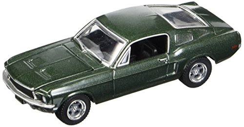Greenlight 44721, Steve Mcqueen Bullitt 1968, Ford Mustang GT 44721, Color Verde
