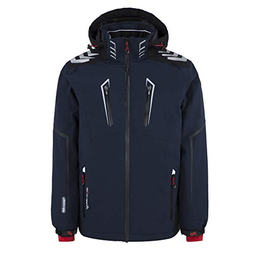 Geographical Norway - Blouson de Ski Homme Warning Marine-Taille - XL