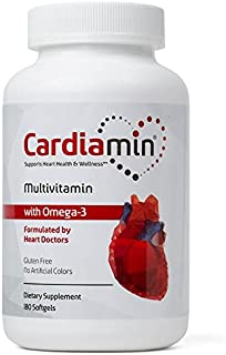 Cardiamin Heart Health and General Wellness Multivitamins 90-Day Supply