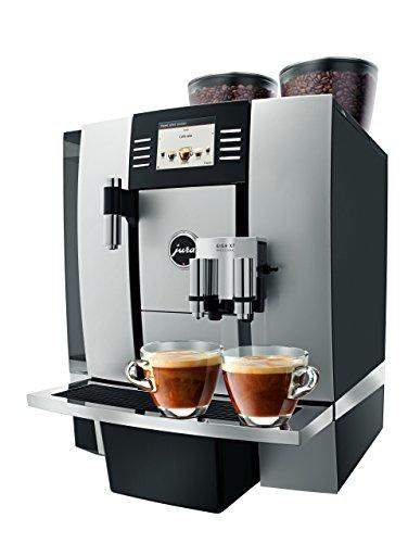 Jura GIGA X7 Professional Kaffeemaschine, Vollautomat (Stand-alone-Gerät, Kombi-Kaffeemaschine, Aluminium, Tasten, drehbar, TFT-Display, 5 l)