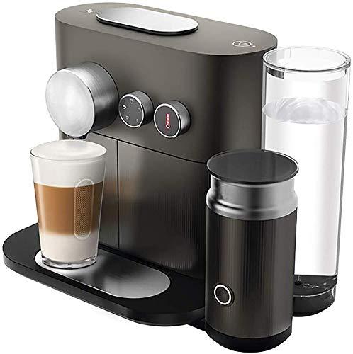 Dsnmm Smart Home Volledig Automatische Capsule Koffiemachine met Melk Frothing Machine, Zwart