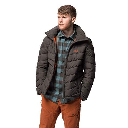 Jack Wolfskin Fairmont Veste vers Le Bas Jacket, Brownstone, XL Mens
