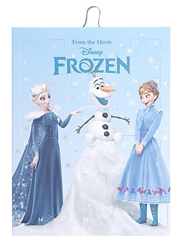 SIX Frozen Adventskalender für Kinder mit hübschen Schmuckstücken und Accessoires, Kalender zum Aufhängen oder Hinstellen, mit Eiskönigin ELSA, Anna und Olaf Motiv (371-057)
