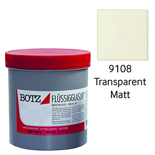 Botz Glasur transparent matt 800 ml 91088