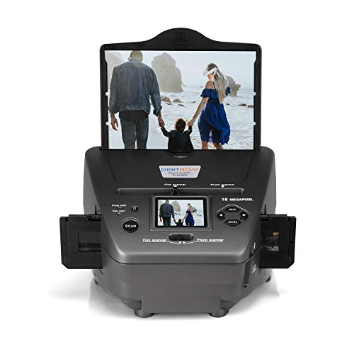 digital foot scanners All-in-One High Resolution 16MP Film Scanner, with 2.4