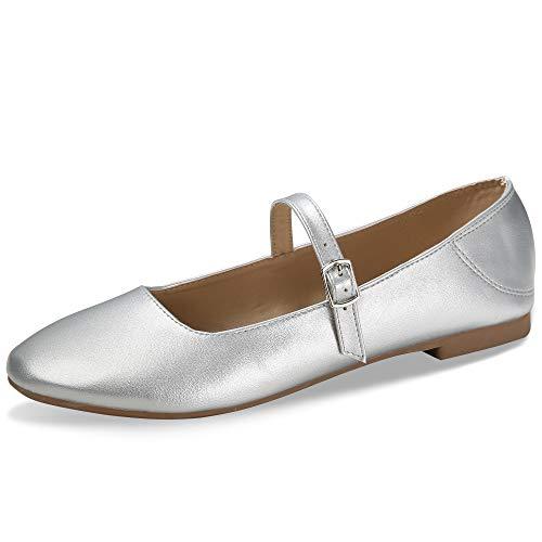 CINAK Flats Mary Jane Shoes Womens