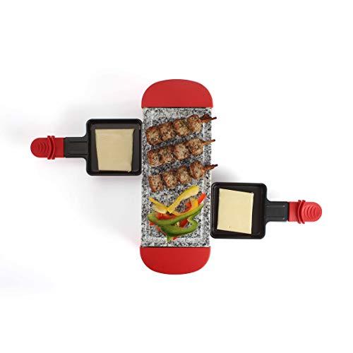LIVOO DOC156R Appareil à Raclette 2 Personnes | Grill...