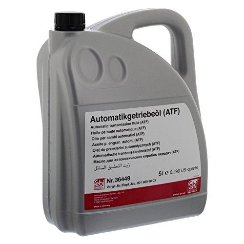 febi bilstein 36449 Automatikgetriebeöl (ATF) , 5 Liter