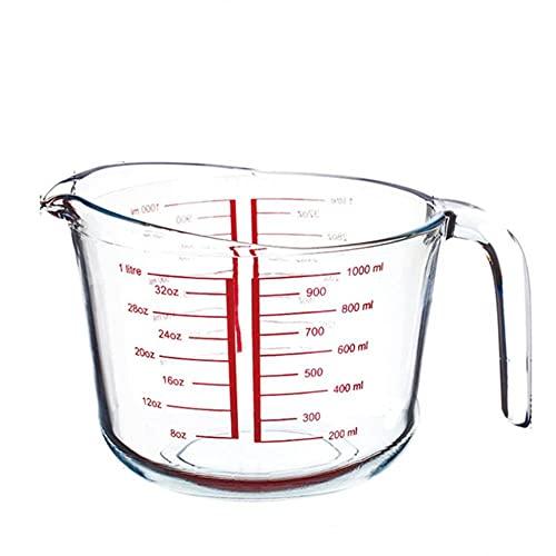Copas De Champán, Tazas, Regalos Taza Medidora De Vidrio Resistente A Altas Temperaturas,Herramientas Para Hornear De Cocina Casera, Taza De Té Con Leche De Gran Capacidad