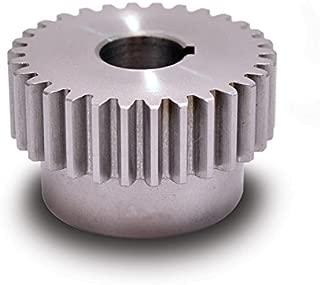 Boston Gear YA15 Spur Gear, Steel, Inch, 20 Pitch, 0.375