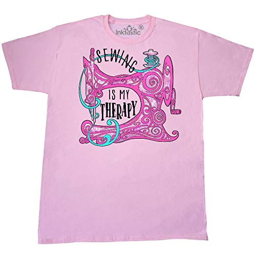 Purchase inktastic Sewing is My Therapy Stylized Sewing T-Shirt 3X-Large Pink 386d5