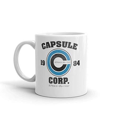 Taza de cerámica capsule corp de 11 oz