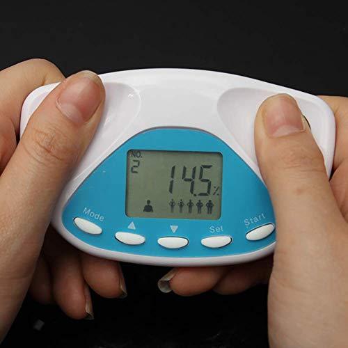 DZSF Handheld Fitness Analyseur de Graisse corporelle 2 Pcs-Multifonctionnel testeur de Graisse corporelle Calcul BMI LCD Affichage Mesure de la Graisse corporelle Pourcentage