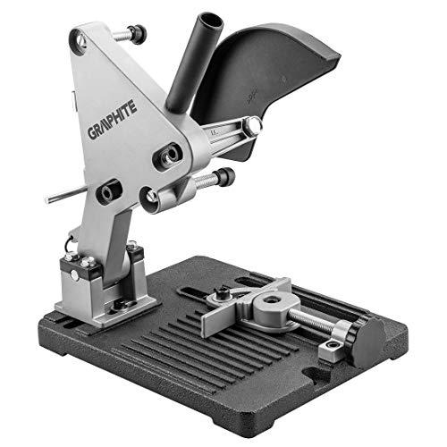 GRAPHITE Ständer Winkelhalter | 115-125mm | Profi Trennständer für Winkelschleifer